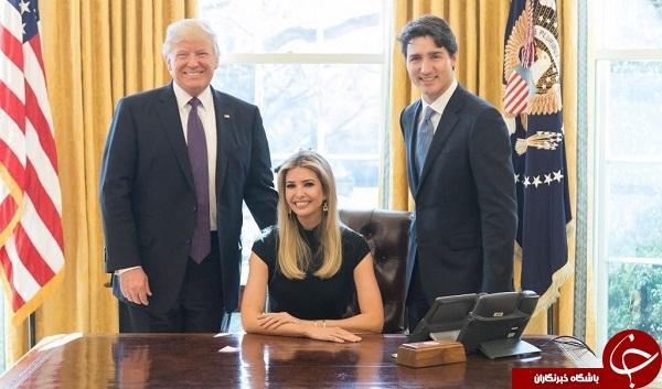 عکس دختر ترامپ حاشیهساز شد