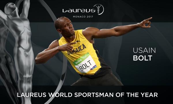 لاروس2017؛اوسین بولت بالاترازرونالدوولبران جیمز برترین ورزشکارمردسال شد