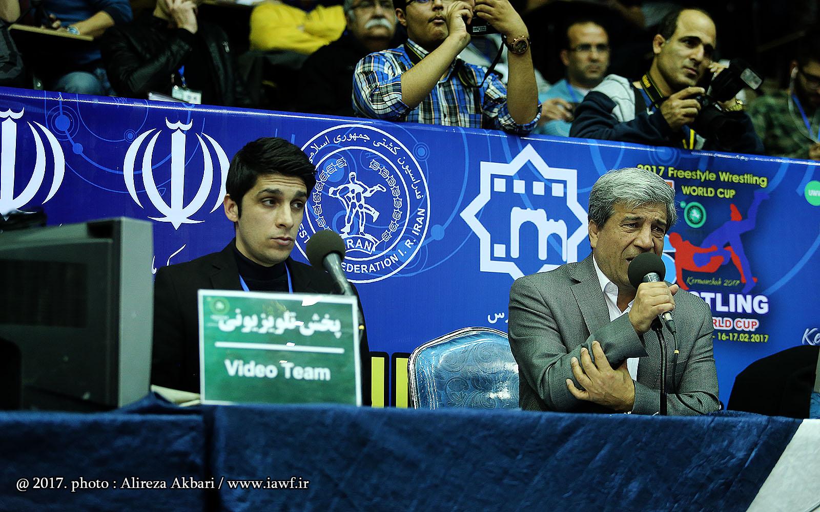 تصاویر برد قاطع کشتی آزاد ایران مقابل تراکیه