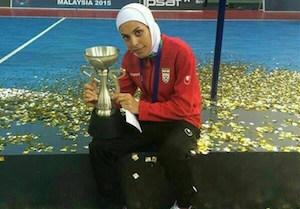 دختر ایرانی نامزد بهترین بانوی فوتسال جهان,