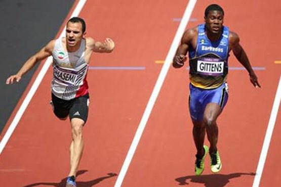 دونده سرعت ایران فاتح 60 مترکاپ استانبول