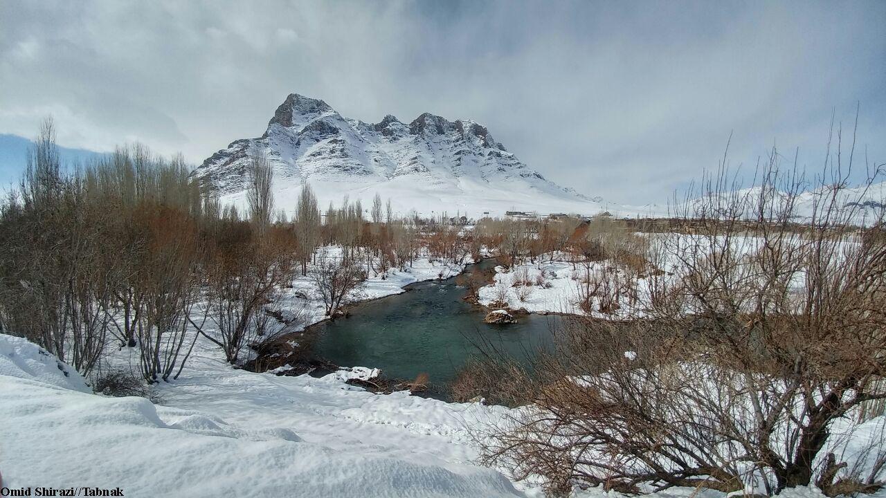 رودخانه قره چای روستای جزنق در اراک