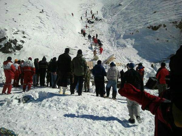کشف چهارمین جسد حادثه سقوط بهمن در آبعلی