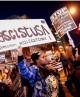 اعتراض و راهپیمایی گسترده در آمریکا پیش از مراسم تحل...