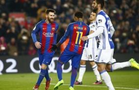 خلاصه بازی/بارسلونا 5-2 رئال سوسیداد