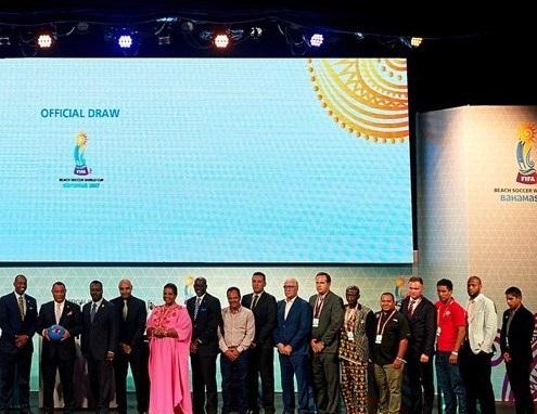قرعه کشی جام جهانی فوتبال ساحلی انجام شد