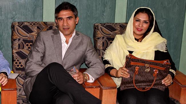 واکنش عابدزاده به داشتن زن دوم و سوم درحضورهمسرش