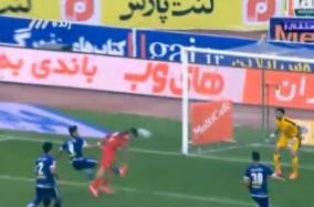 گل پرسپولیس به استقلال خوزستان توسط طارمی