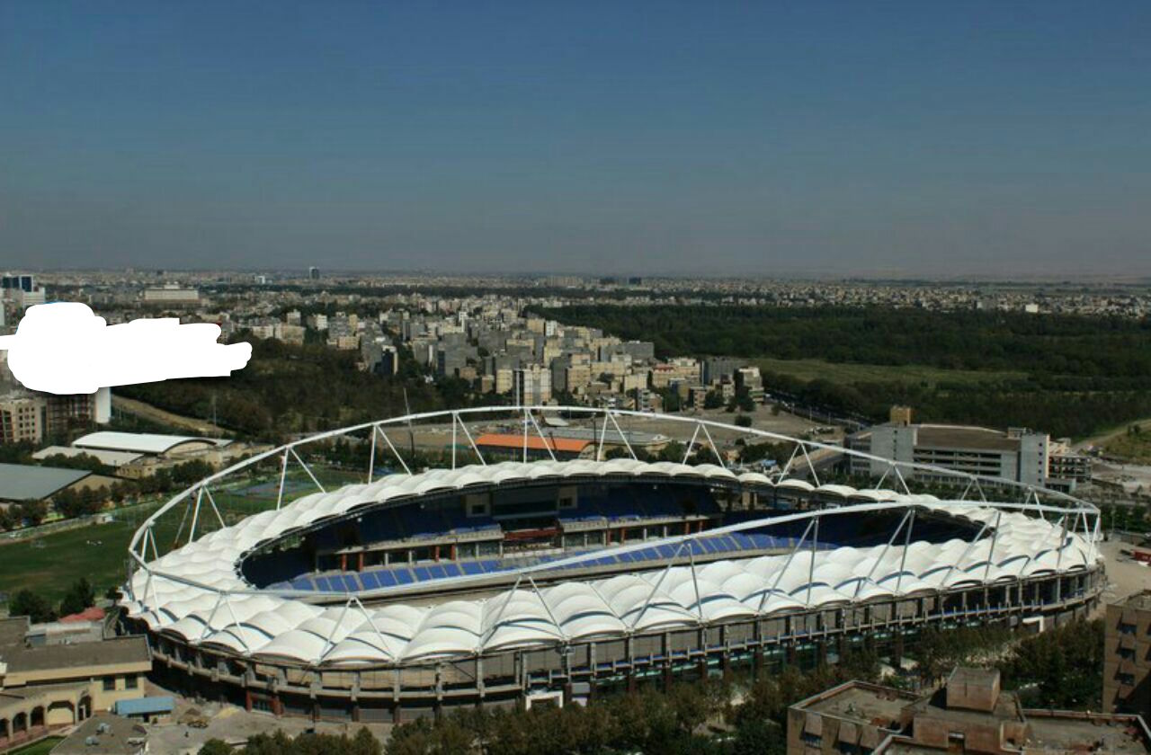 مدرن ترین ومجهزترین ورزشگاه ایران