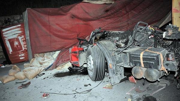 ۳۵ کشته در واژگونی یک تریلر در نیجریه
