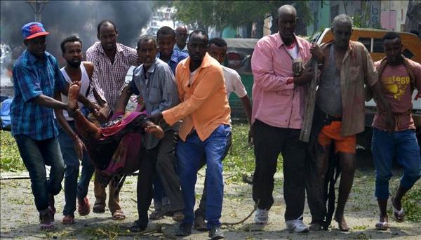 ۱۰ کشته در ۲ انفجار تروریستی در سومالی
