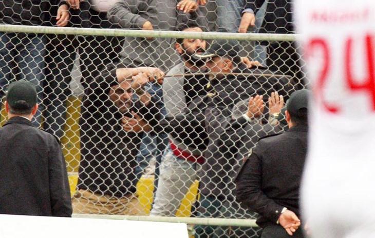 فاجعه درفوتبال ایران؛صحنه هایی که تابه حال ندیده اید+عکس