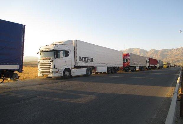 صف کامیون ها در مرز بازرگان به صفر رسید