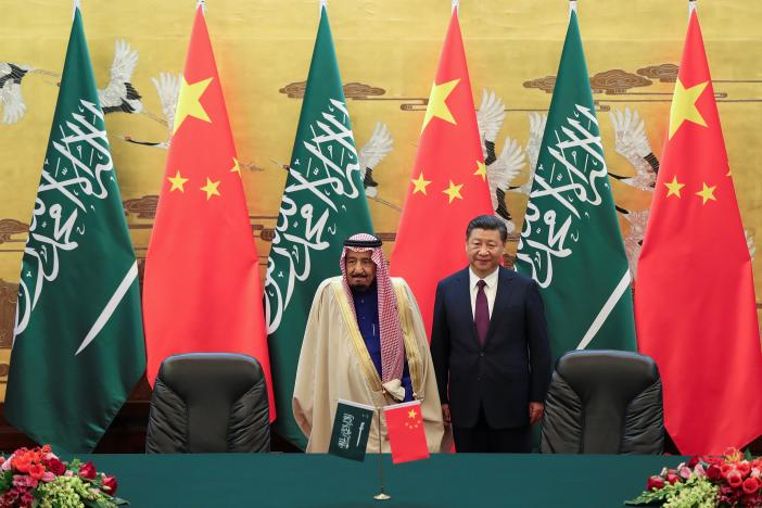 همکاری 65 میلیارد دلاری چین و عربستان سعودی