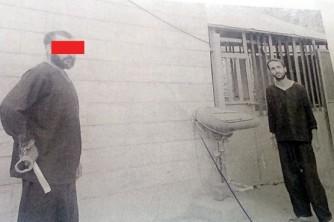 اعترافات عامل «پدر کشی» در بازسازی صحنه جنایت