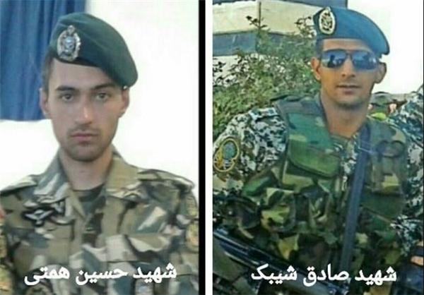 شهادت دو مدافع حرم ارتش=