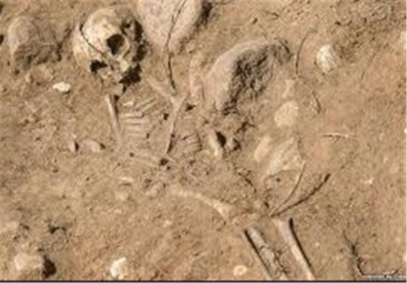 کشف اسکلتهای ۳ هزار ساله در ماسال