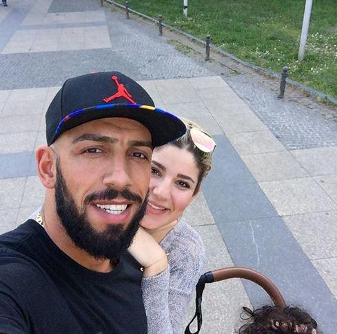 تصویر تعطیلات دژاگه و همسرش در آلمان