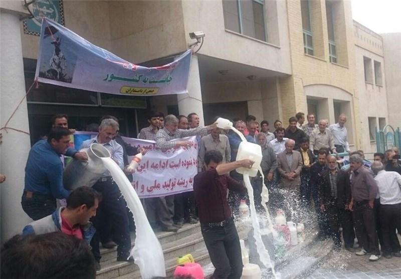 قیمت شیر دامداران اصفهان اخبار اصفهان