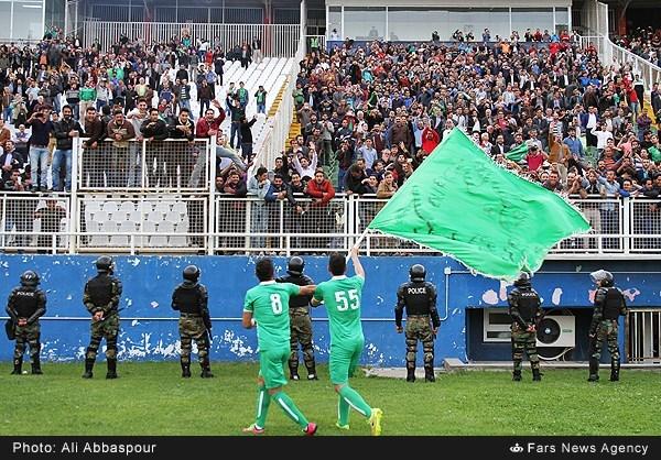 جشن صعود ماشین سازی به لیگ برتر
