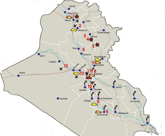 از عقبنشینیهای داعش تا تشدید بمبگذاریها