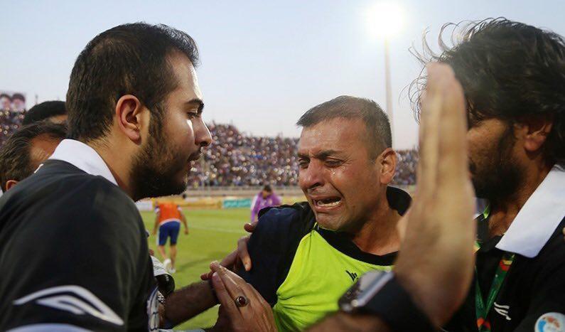 اشکهای عبدالله ویسی بعد از قهرمانی