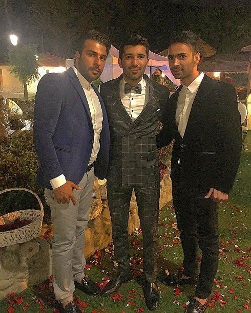 تیپ پرسپولیسیها در مراسم عروسی مسلمان