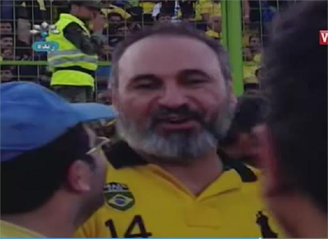 بازیگر سرشناس در جشن صعود صنعت نفت به لیگ برتر