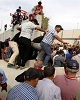ورود دوباره معترضان به «منطقه سبز» بغداد و درگیری با ن...