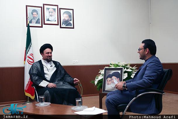 سیدحسن خمینی: رهبر انقلاب خلف شایسته امام است / نگاه تک بعدی تحریف عمیق است؛ باید همه ابعاد امام را بگوییم