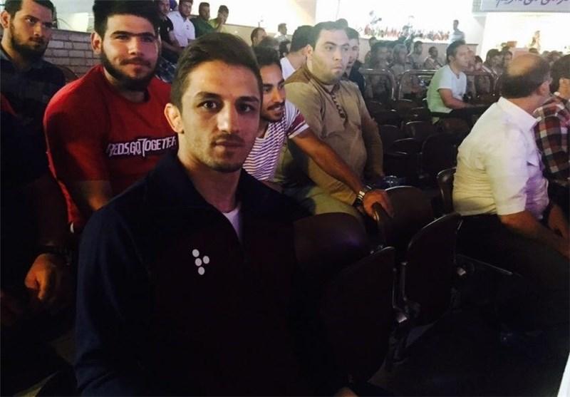 تماشاگر ویژه مسابقه بهداد سلیمی