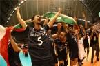 تصاویر جالب از شادی صعود والیبال به المپیک