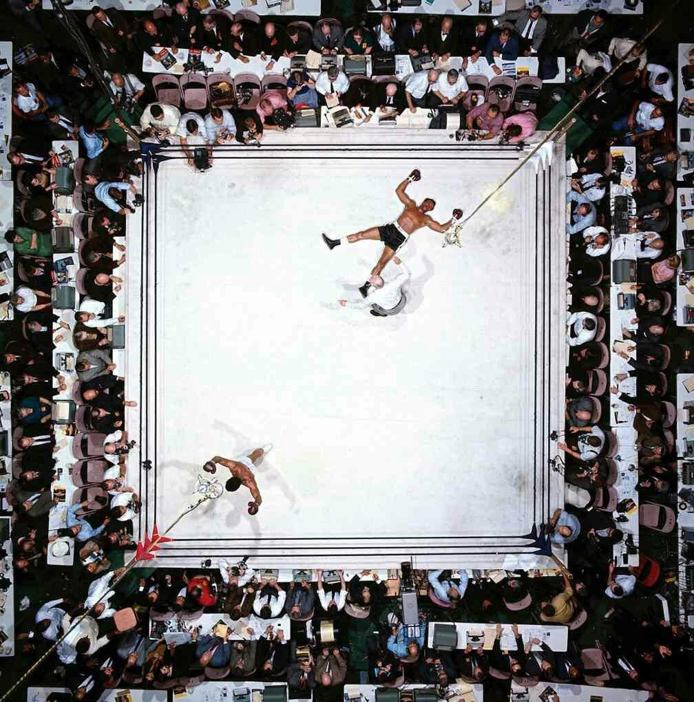 برترین عکس تاریخ ورزش با شادی محمدعلی