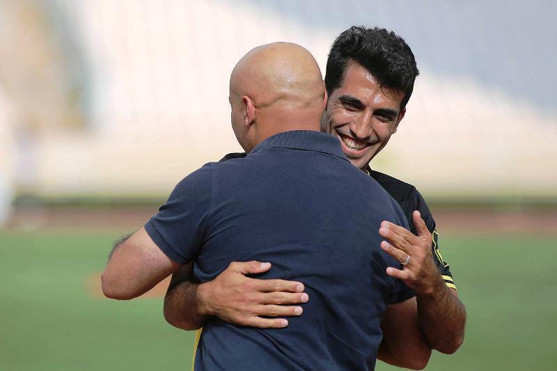 وحید امیری شکار جدید منصوریان در تمرین تیم ملی