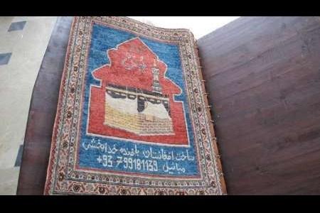 هدیه هنرمند افغانی به رهبر معظم انقلاب