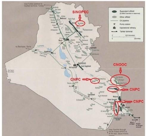 دستبرد به نفت ایران با نقشه چینیها در