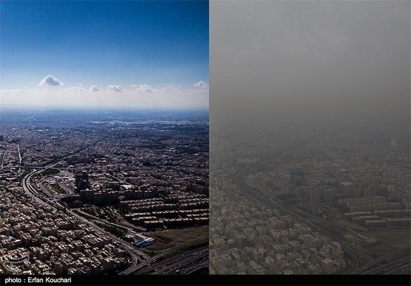 هوای تهران برای هفتمین روز در شرایط ناسالم