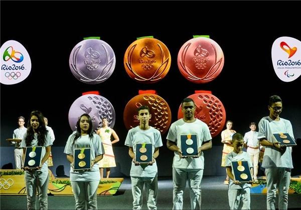 تصاویری از رونمایی مدالهای المپیک ریو