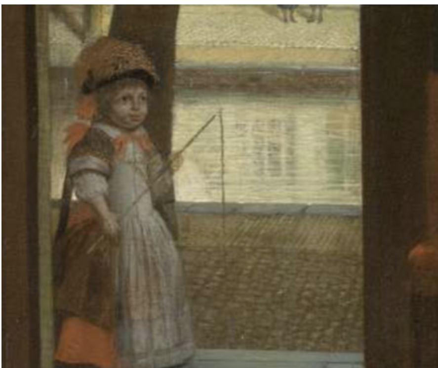 چگونه مدیر عامل اپل در این نقاشی قرن هفدهمی یک آیفون کشف کرد؟!