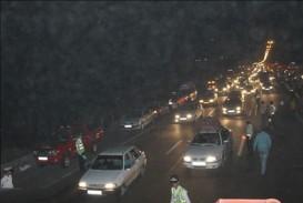 مرگ تلخ مادر جوان در نزدیکی پل عابر پیاده +فیلم