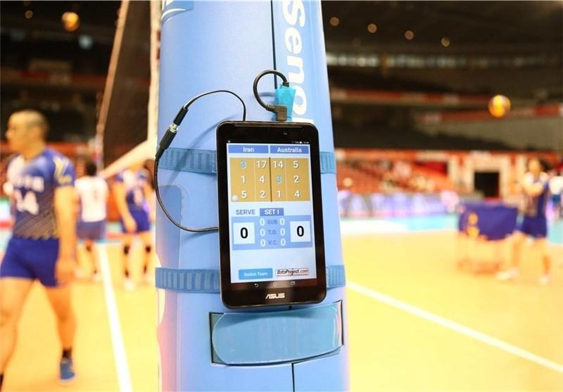 2 تکنولوژی جدید بلای جان تیم ملی والیبال/«تبلت»مربی و دوربین داور + تصاویر