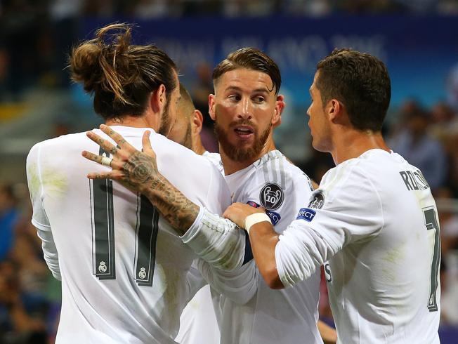 رئال مادرید یک - اتلتیکو مادرید صفر/ پایان نیمه اول با برتری قوها