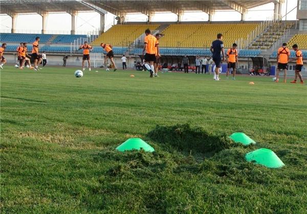 وضعیت نامناسب چمن محل برگزاری فینال جام حذفی