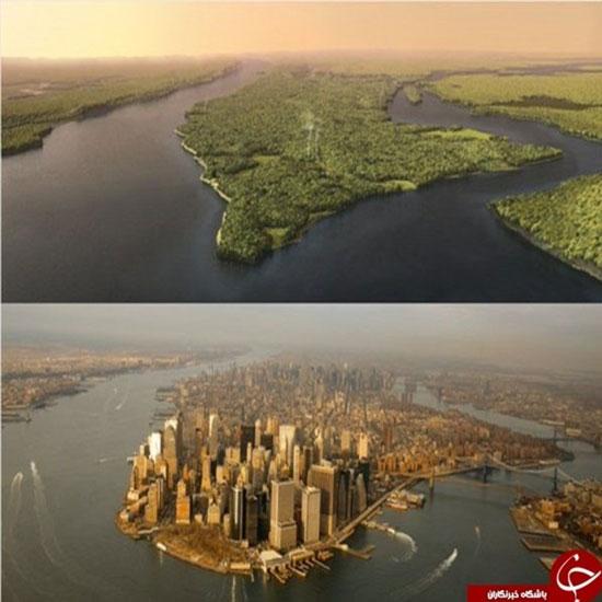 نیویورک قبل از کشف اینگونه بود