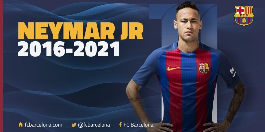 نیمار 5 سال دیگر در بارسلونا ماندنی شد