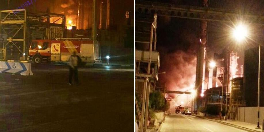 جزئیات آتش سوزی عظیم در پتروشیمی بوعلی سینا بر اثر نشت گاز +ویدیو