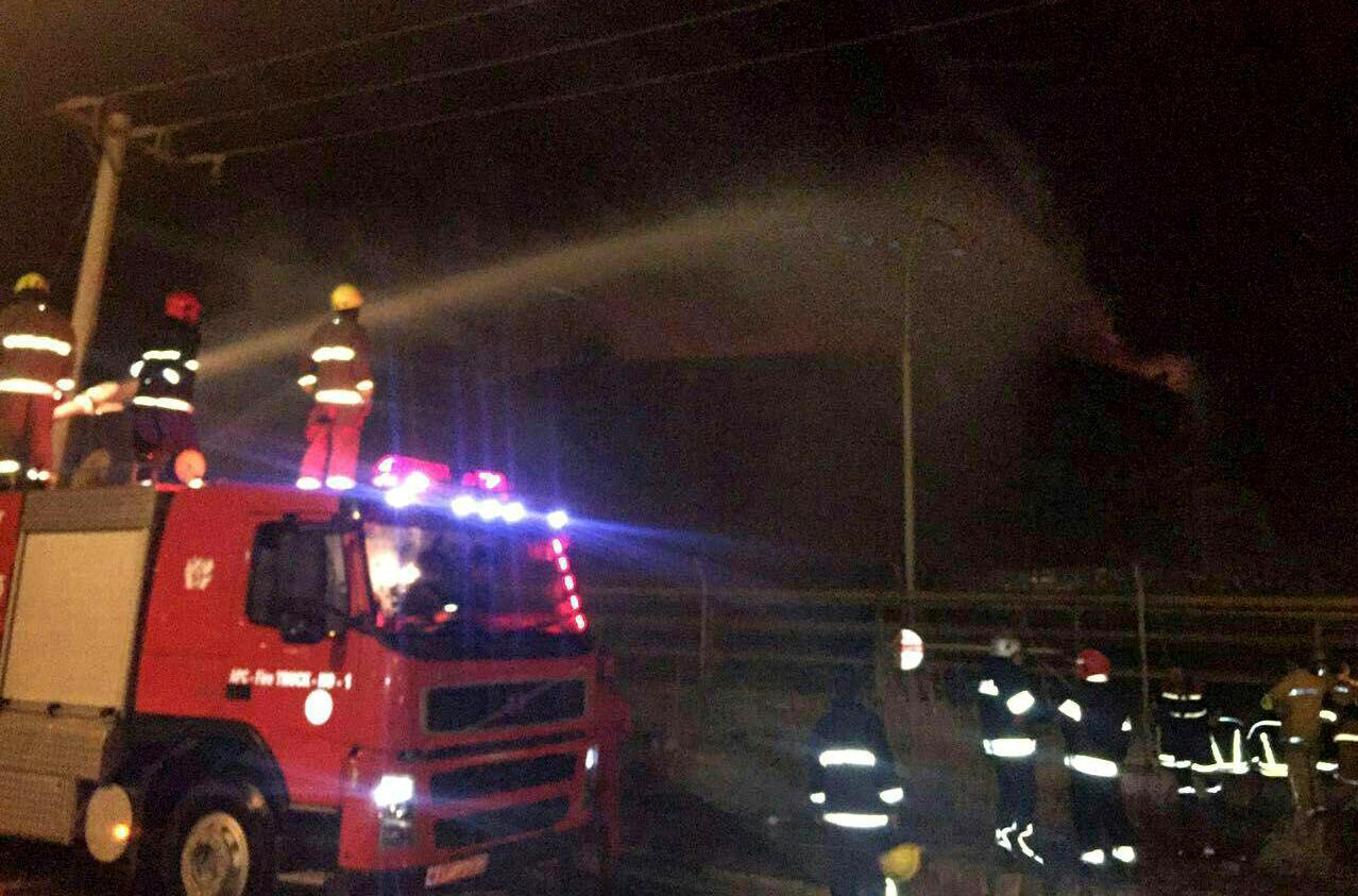 آتش در پتروشیمی بوعلی سینا بالاخره خاموش شد