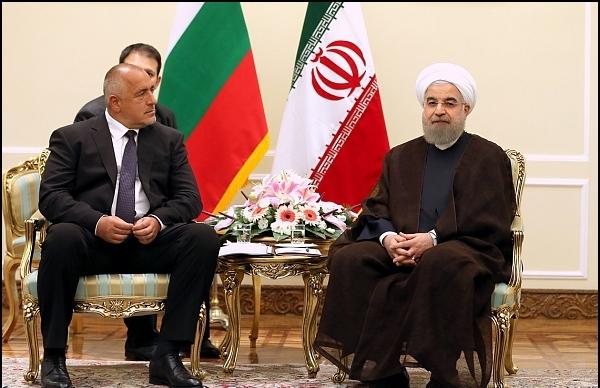 دیدار رییس جمهور با نخستوزیر بلغارستان