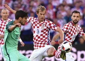 گزارش تصویری پرتغال - کرواسی در یورو2016