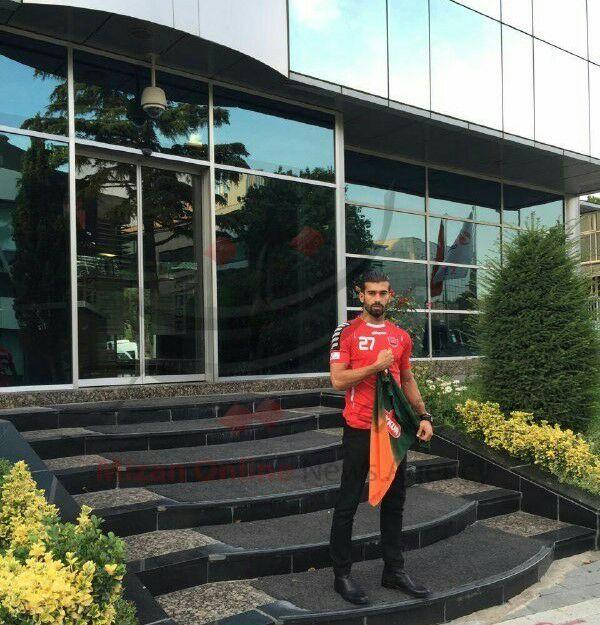 عکس عجیب از رضائیان بعد از قرارداد با تیم ترکیهای